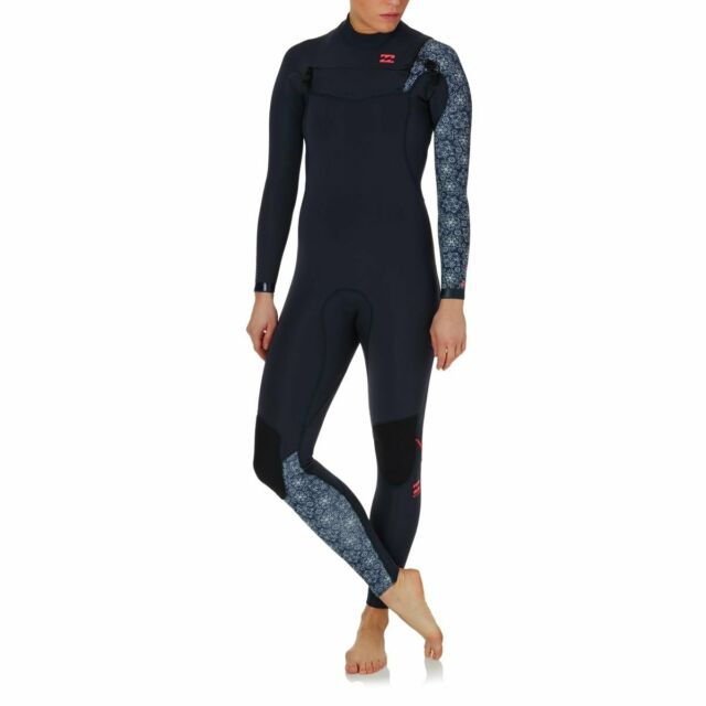 4e4fe8a7e74 BILLABONG Women s 3 2 FURNACE COMP CZ Wetsuit - BLU - Size 6 - NWT