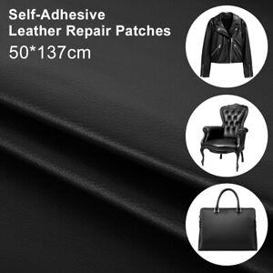 lederreparatur kunstleder flicken selbstklebend patch 50x137cm sofa reparatur de ebay