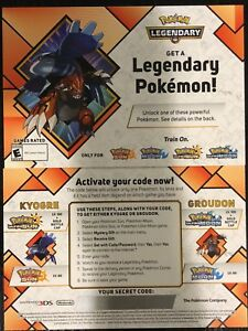 GameStop-Pokemon-LVL-100-Kyogre-Groudon-Ultra-Sun-Moon-2018-Event-Card