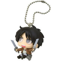 Attack On Titan Chibi Chara Mascot Part2 Key Chain Figure Eren Yeager Tomy Anime