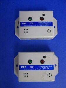 SMC-Sierra-Monitor-Combustible-Gas-Monitor-Model-2001-1000PPM-CH4-LOT-of-2