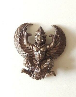 Thai Amulet Large Garuda LP KEY Powerful Spiritual Wealth and Fulfill Mind Set