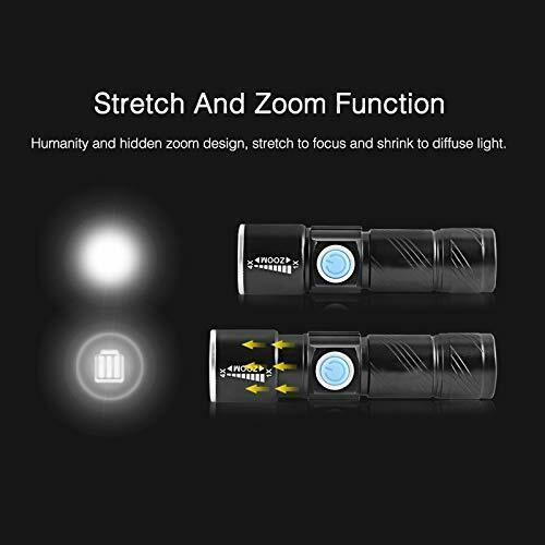 LED Hand held Spotlight Rechargeable Camping Hunting Flashlight Torch Work Light
