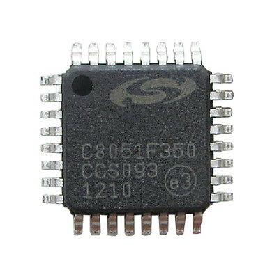 BEST US C8051F350 LQFP-32/ 8 kB Flash/ 24-Bit ADC/ 32-Pin Mixed-Signal MCU