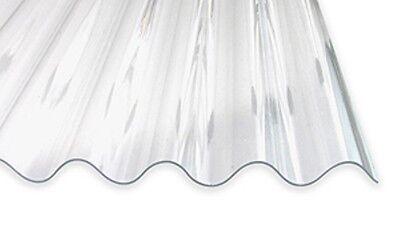 26,35€/m² Acryl Glatt 3,0 Mm Schnelle Farbe Lichtplatte 76/18 Sinusplatte Unstrukturiert