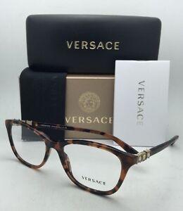 73543ce0a81 New VERSACE Eyeglasses 3213-B 944 52-17 140 Havana Tortoise Frames ...