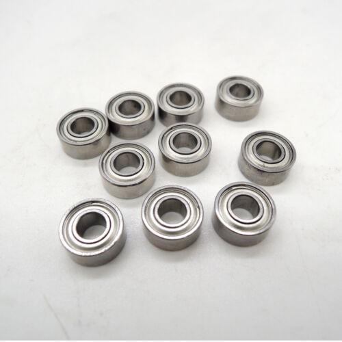 10pcs//lot MR62ZZ 2X6X2.5mm miniature deep groove Ball Bearings MR62