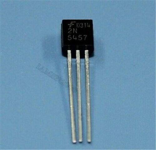 100 Stücke 2N5457 2N5457G BIS-92 Jfet N-Kanaltransistor cc