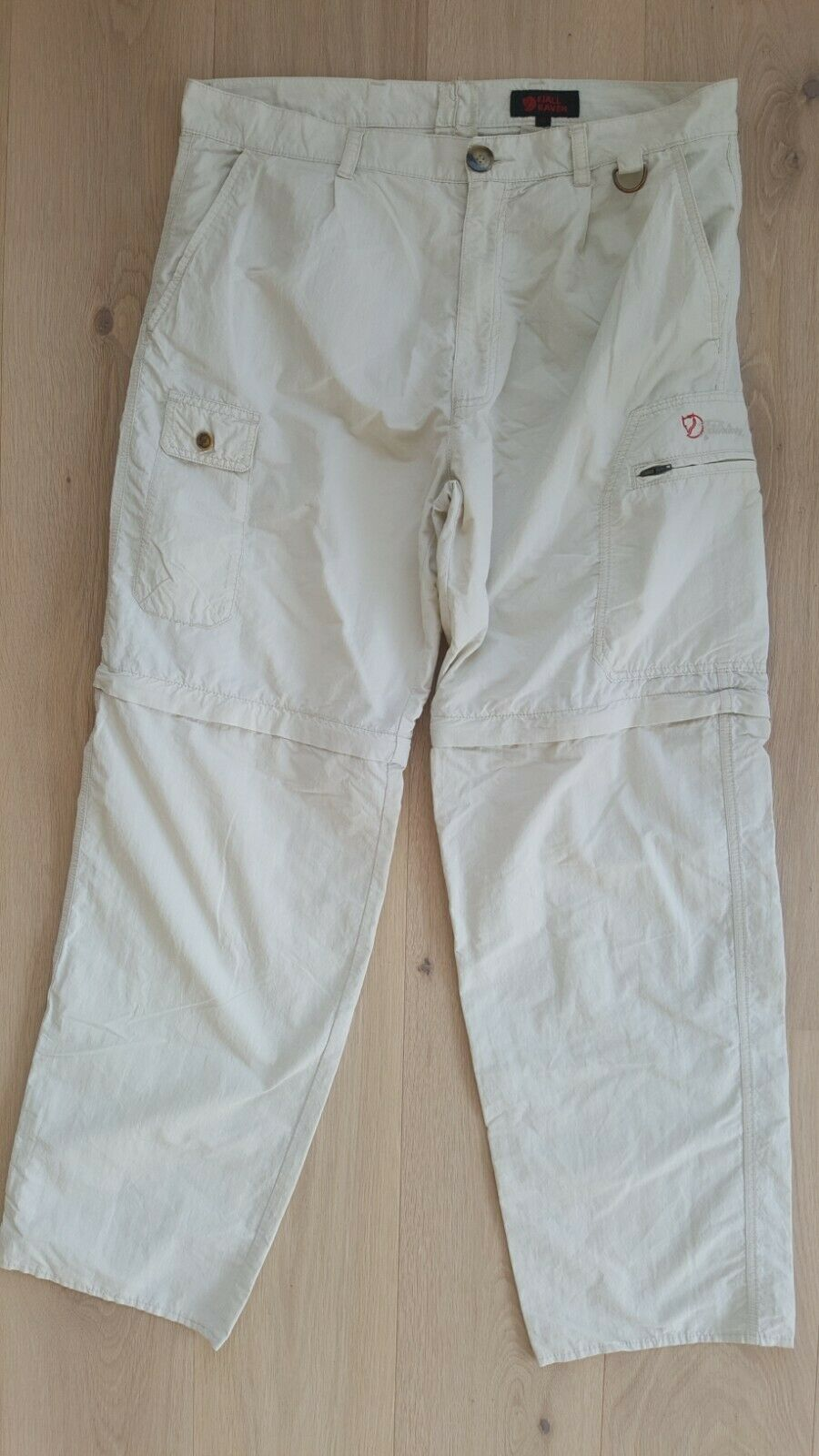 Fjallraven Hiking Pants Trekking Trousers mannen's afmeting 52