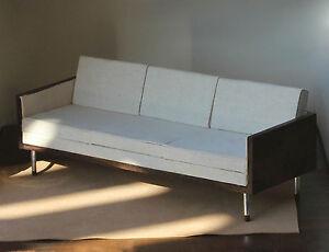 Mad Men Furniture cream/white don draper sofa 1:6 scale furniture mad men style bjd