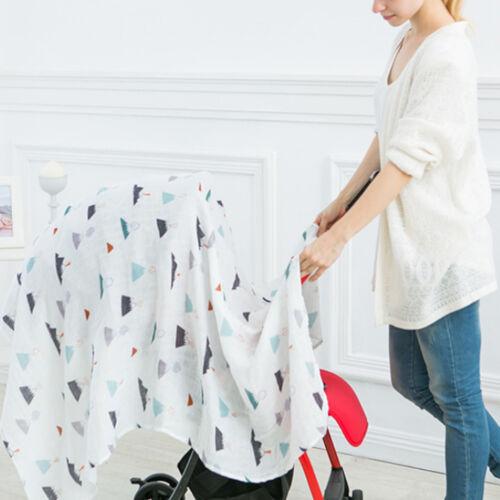 Baby Muslin Cotton Swaddle Blankets Newborn Infant Wrap Receiving Blankets
