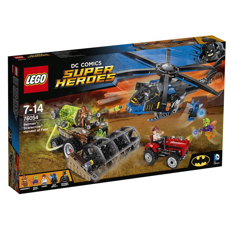 LEGO SUPER HEROES BATMAN BATMAN BATMAN IL RACCOLTO DELLA PAURA DI SCARECROW - LEGO 76054 51e9e6