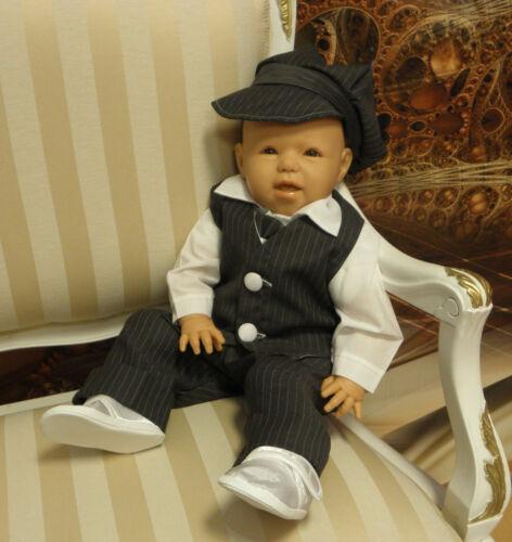 62-86 Taufe Hochzeit Taufanzug Babyanzug Anzug Baby Gr NEU 05-35 6 Tlg