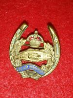 WWI ENAMELED BRITISH ARMY 'TANK CORPS' BADGE/MEDAL/BROOCH/PIN