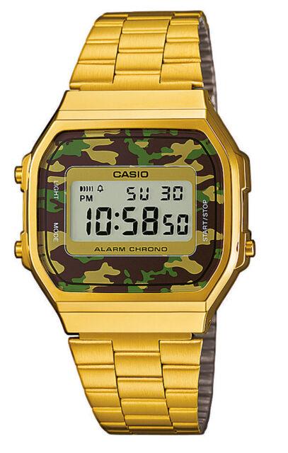 CASIO Collection A168WEGC-3EF Digial Digi Herren Damen Unisex Uhr neu
