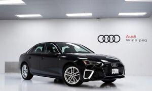 2020 Audi A4 Technik w/Head Up Display *DEMO*