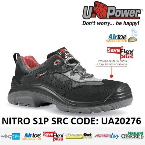 Ua20276 Antinfortunistica U S1p Src Upower power Nitro Scarpe Lavoro S1qxxA8