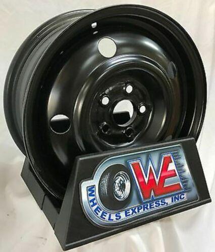 15 Inch 5 on 100 Black Steel Wheel Fits Legacy  WE90786N New
