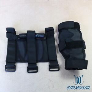 Fit-For-Jeep-Wrangler-CJ-YJ-TJ-JK-PREMIUM-Roll-Bar-Grab-Handle-Handles-Black