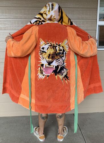 VTG Handmade Terry Cloth Tiger Robe Joe Exotic Ric