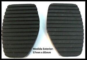 2x-Goma-Pedal-Freno-Embrague-CITROEN-XSARA-EVASION-C5-C6-PICASSO-BERLINGO-ZX