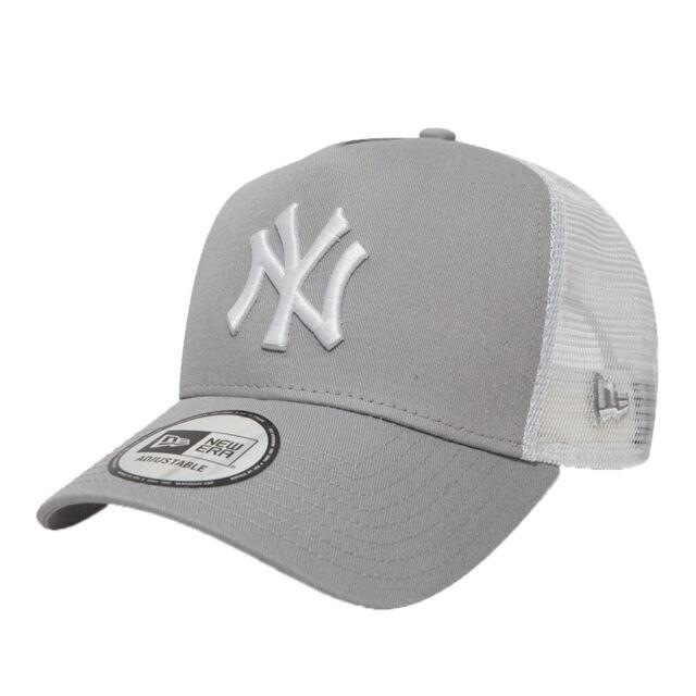 NEW ERA New York Yankees Clean A Frame Trucker Cap Black BNWT