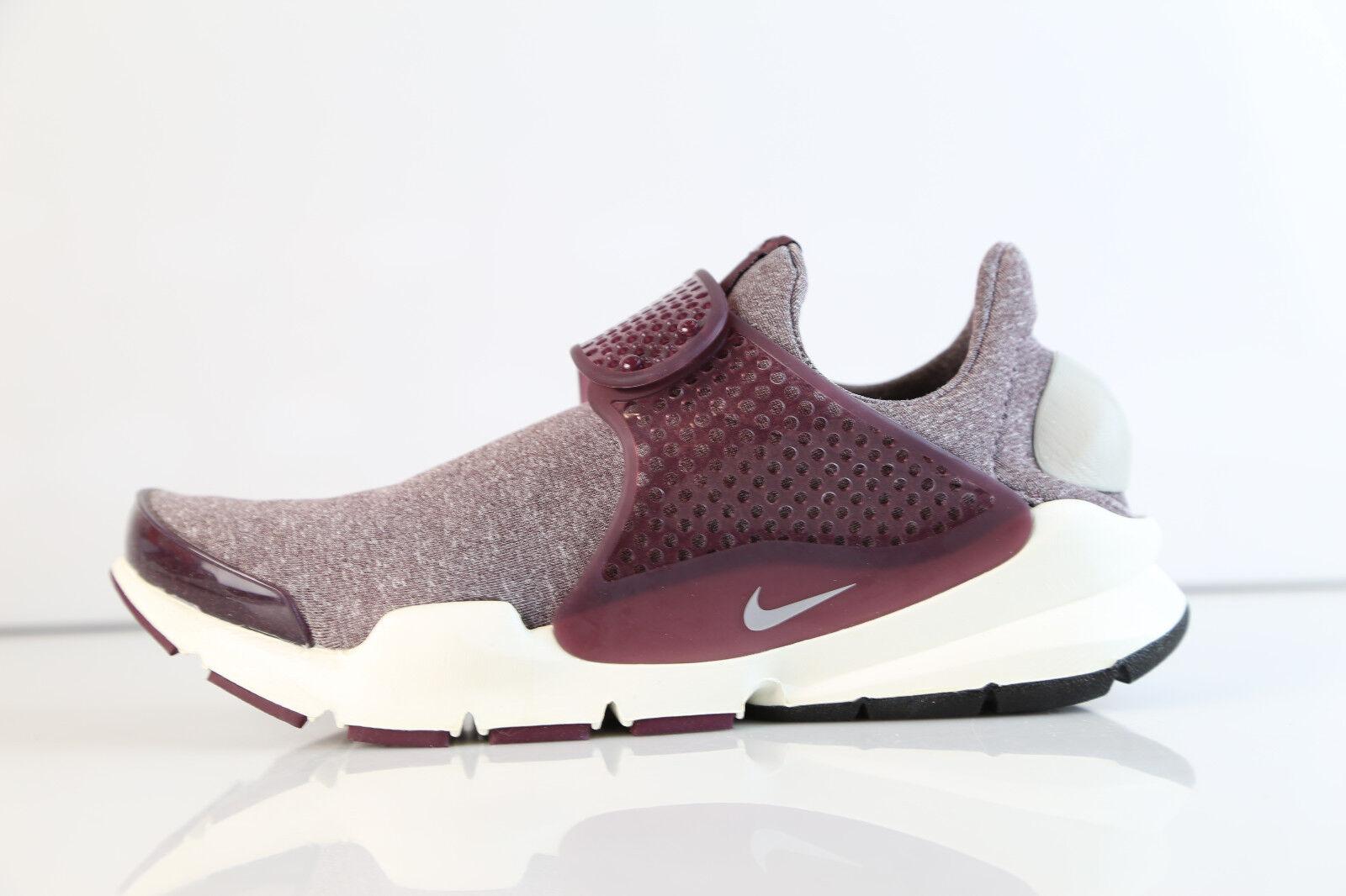 Nike Womens Sock Dart SE Night Maroon Iron Ore 862412-600 5-12 bordeaux prm free