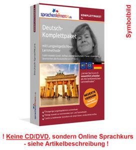 Sprachkurs Deutsch lernen Komplettpaket Online Kurs Vokabeln Audiotrainer