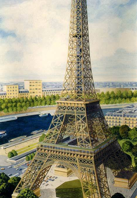 Light - Eifffelturm Tour Eiffel Model Kit - 1 650 New Tip Ovp Eiffel-Turm