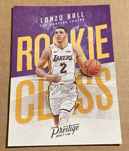 Lonzo-Ball-RC-2017-18-Panini-Prestige-Rookie-Class-Los-Angeles-Lakers-2