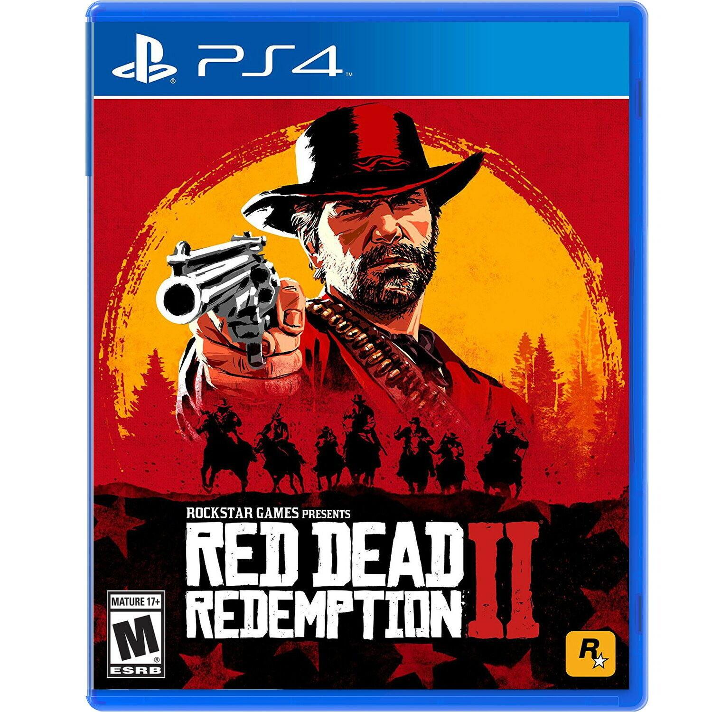 Best PS4 Action Games  Red Dead Redemptiom II