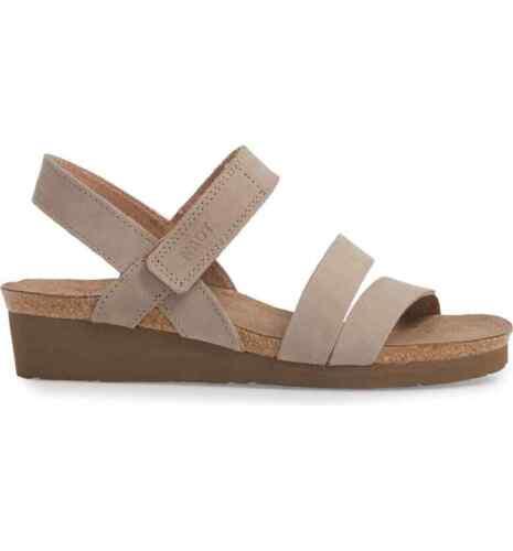 Naot Women/'s Kayla Wedge Brown Sandal 14611 Size 40 EU