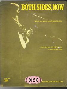 SHEET-MUSIC-JONI-MITCHELL-BOTH-SIDES-NOW-COPYRIGHT-1967-REPRISE-RECORDSIQUOMB