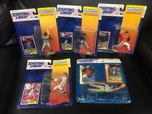 NIB-Vintage-Starting-Lineup-Baseball-Figures-Figurines-1994-Set-Of-5-MLB-Rare