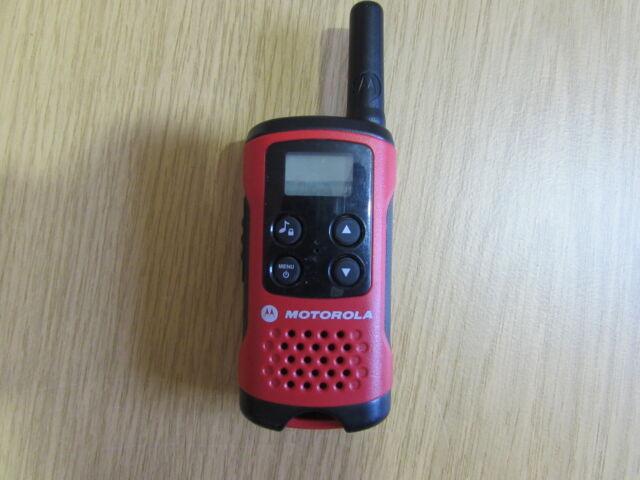 Motorola TLKR T40 Funkgeräte rot Einzelgerät - Ersatzgerät - Zusatzgerät