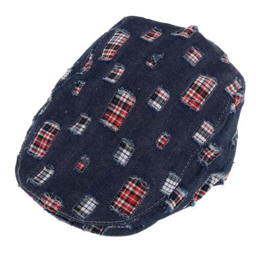 Baby scherzt flache Kappe der Baumwollkappe Efeu  Zeitungsjungen