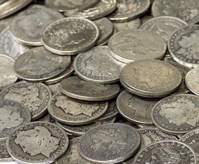 Morgan Silver Dollars US Coin Lot, Circulated, Choose How Many! FREE SHIPPING!