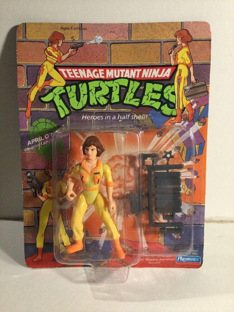 Vintage Teenage Mutant Ninja Turtles abril o en una tarjeta de 44 volver ENLOMADOR
