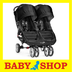 Baby Jogger City Mini Double wózek TWIN stroller Kinderwagen passeggino