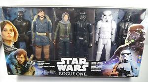 Star Wars Rogue One - Ensemble de 6 pièces Jyn, Death Death Trooper Hasbro (l)