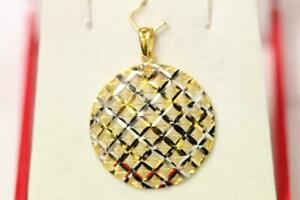 916//22ct sparkling attractive indian gold Ayatul Qursi pendant *Boxed*