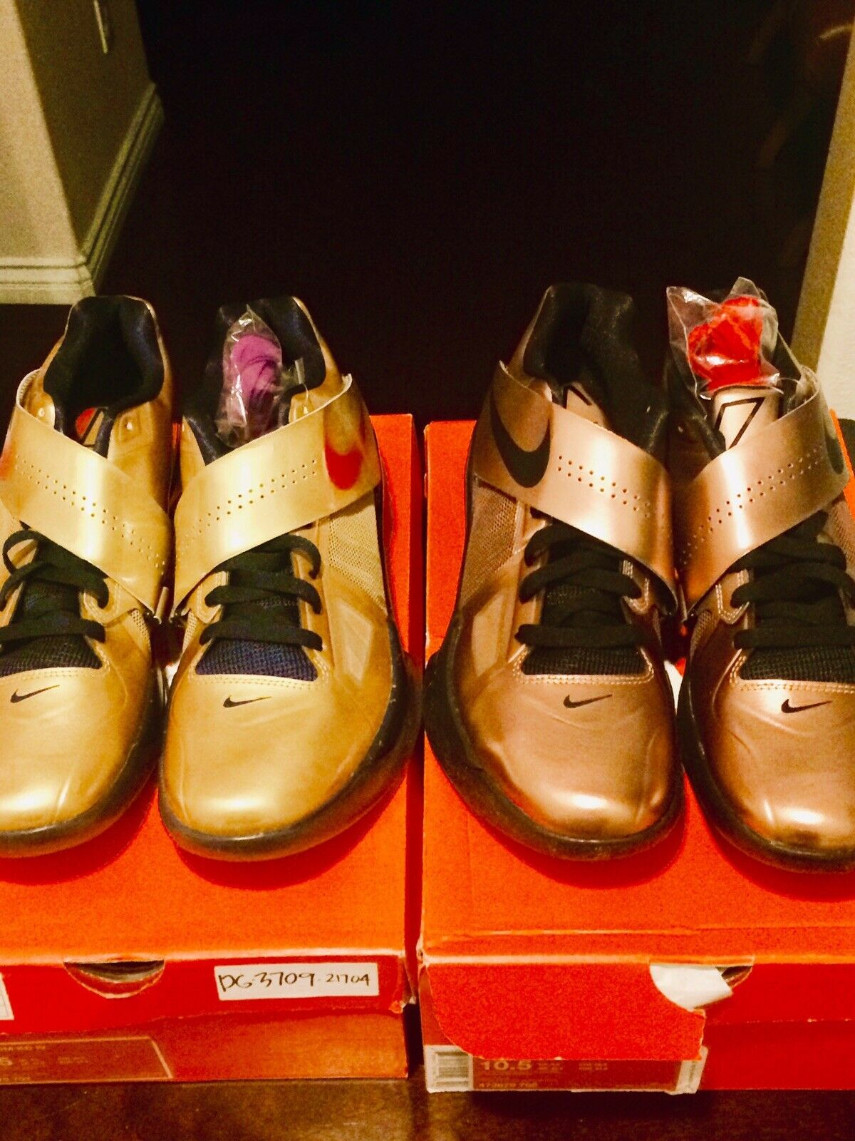 Nike Zoom KD IV Bronze Olympic gold Medal Lot Size 10.5