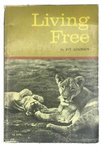 Living Free by Joy Adamson 1972 Vintage Paperback Scholastic Edition TX 979
