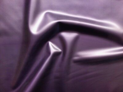 92cm Wide Pearlsheen Purple Latex Rubber 0.45mm Thick Slight Seconds