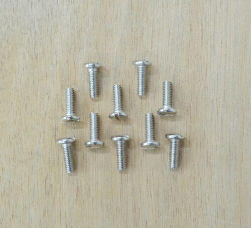 1//2 Longer Concho Screw 12mm long Screws ONLY 10 PACK