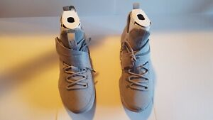a99643b55466 Nike LeBron XIV REFLECT SILVER METALLIC GREY MARTY MCFLY 852405-007 ...