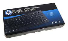 HP Slim Bluetooth Keyboard Wireless H4Q44AA For Pavilion x2 Split x2 1011 G1