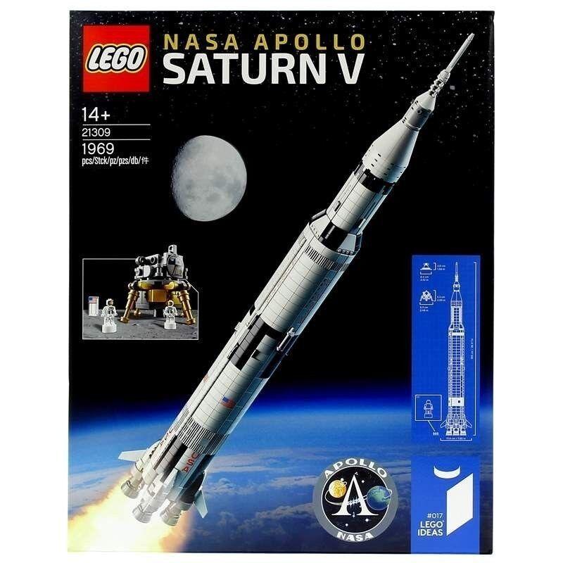 LEGO - Nasa Apolo Saturno V - NUEVO