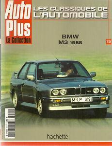 LES-CLASSIQUES-DE-L-039-AUTOMOBILE-72-BMW-M3-E30-1988-BMW-700-BMW-3-0-CSL