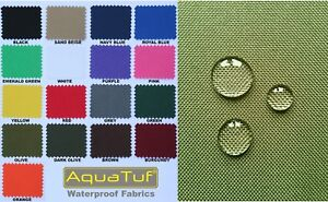HEAVY-DUTY-TOUGH-WATERPROOF-AQUATUF-SD-OUTDOOR-CANVAS-FABRIC-MATERIAL-COVER-SEAT